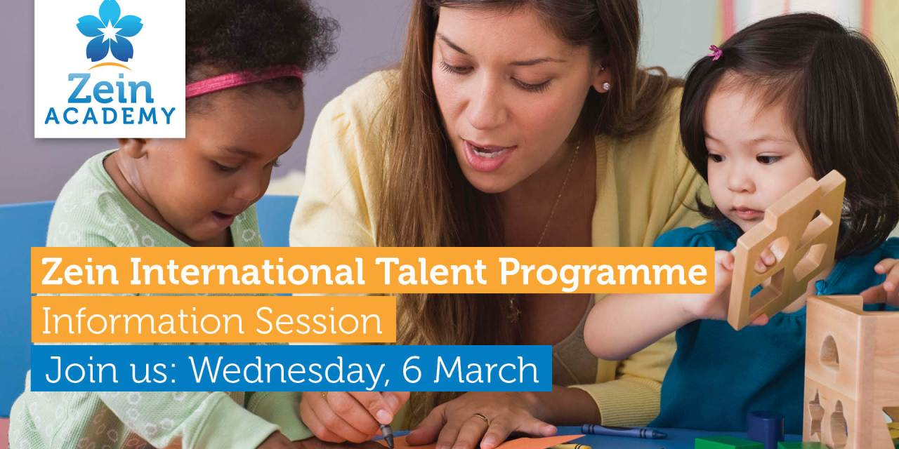 Zein Academy International Talent Programme Information Session