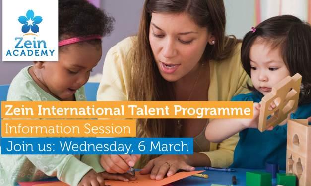 Zein Academy International Talent Programme Information Session