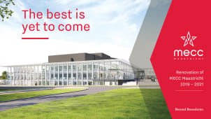 MECC Maastricht Expansion Planned for June