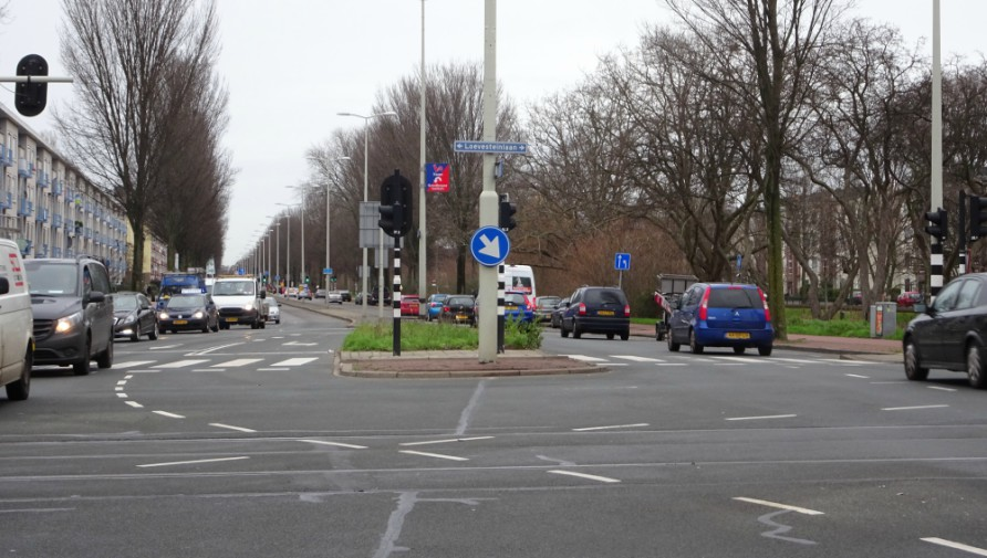 Erasmusweg Closed as of 11 March
