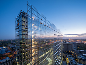 European Patent Office's new premises in The Hague receives international award as 'Best Tall Office Building'