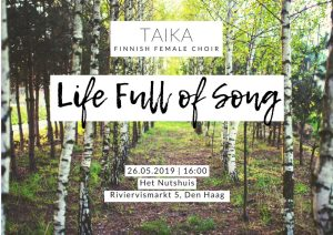 TAIKA: Life Full of Song Summer Concert @ Het Nutshuis