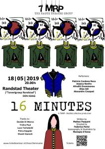 '16 Minutes' by Matteo Pasquini @ Randstadtheater