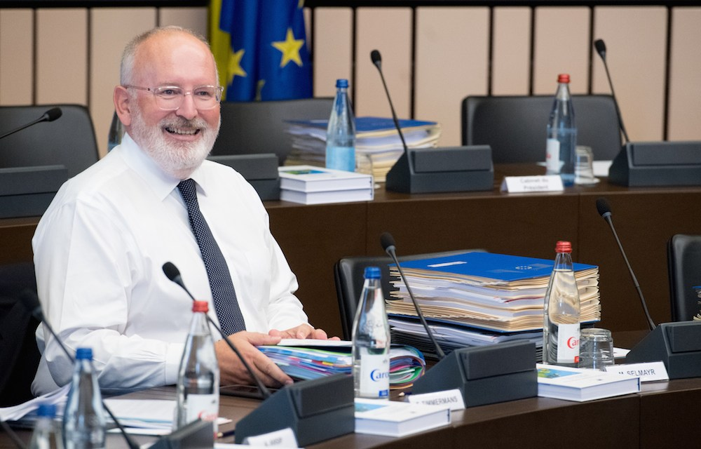 Netherlands' Timmermans in the Running for Top EU Position