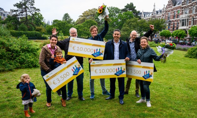Green Space, Bees, Bikes and Flowerbeds Win in Duinoord