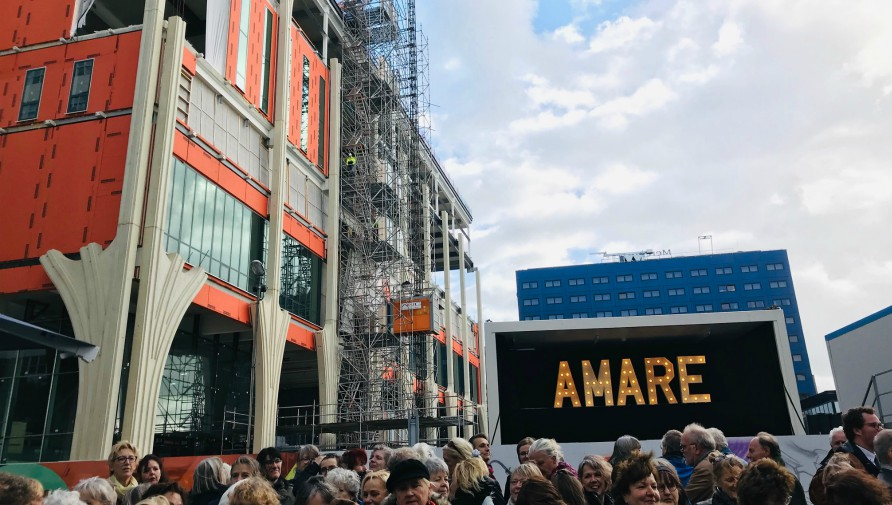Name for The Hague's New Educational and Cultural  Complex at Spui