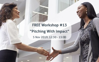 Workshop from Volunteer The Hague: Pitching with Impact