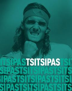Stefanos Tsitsipas  returns to  47th ABN AMRO World Tennis Tournament @ Ahoy,Rotterdam