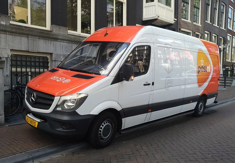 PostNL Truck Raided in The Hague