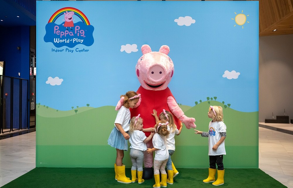 The Netherlands gets Europe's first Peppa Pig World of Play indoor playground