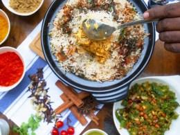 Firetop Claypot Dhum Biryani table