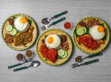 Nasi Lemak Ayam Taliwang Foodpanda