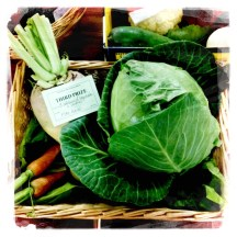 Prizewinning vegetables