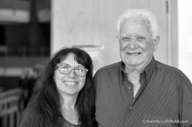 Antonella Papa and Roberto Pendini - photograph (c) 2016 David Bailey (not the)