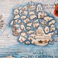 The Chart of the Seas - Orkney on the Carta Marina from 1539