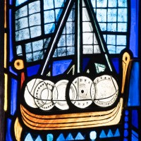 A Viking Longship in St Magnus Cathedral