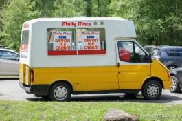 Ice Cream Van - The Hall of Einar - photograph (c) David Bailey (not the)