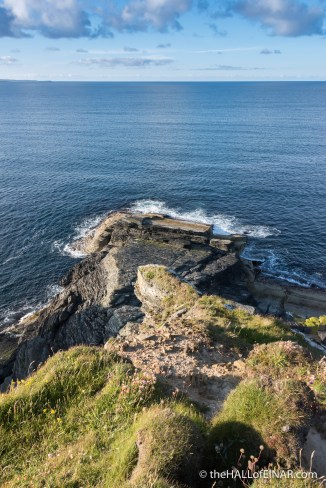 Castle o' Burrian - The Hall of Einar - photograph (c) David Bailey (not the)