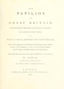 Papilios of Great Britain - The Hall of Einar