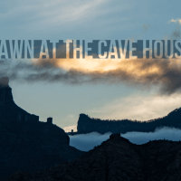 Dawn at the Cave House