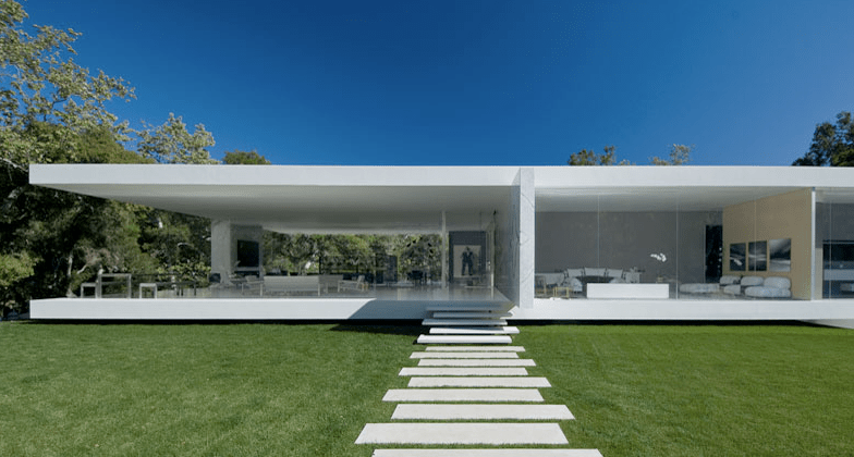 His Recent Masterpiece, Six Years In The Making, Is The Modernist Glass  Pavilion. Located On 3.5 Acres Of Oak Groves In Paradisiacal Montecito, ...
