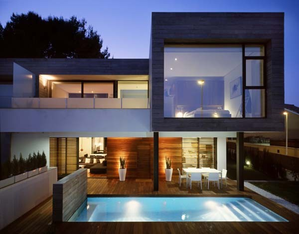 Contemporary Pool 6