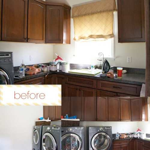 the laundry room redo
