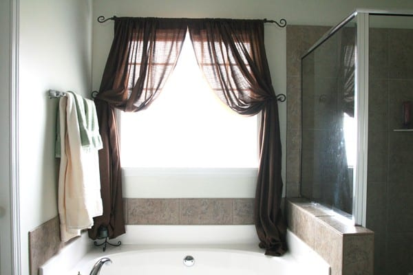 These Window Treatments Were Some Simple Panels I Threw Up The Week We Moved Into Our Home And Since That Was Nearly Four Years Ago Im Kind Of In