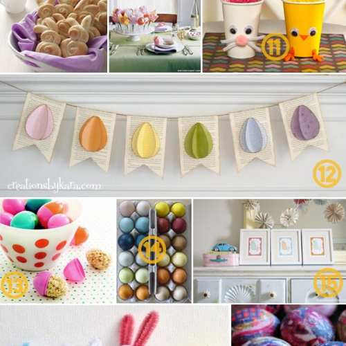 25 last minute ideas for easter.