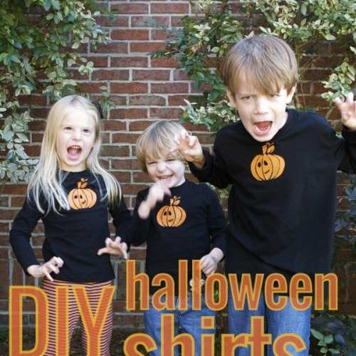 diy halloween t-shirts
