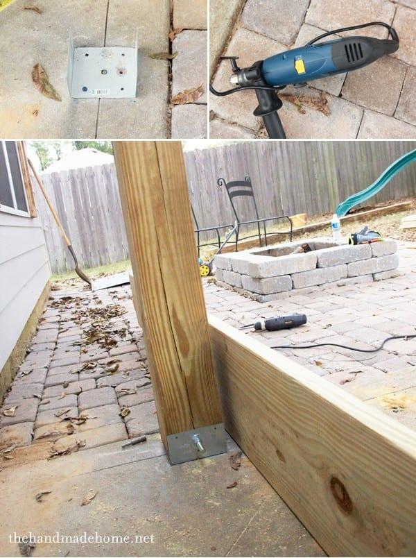 how to build a pergola - an easy DIY build anyone can do