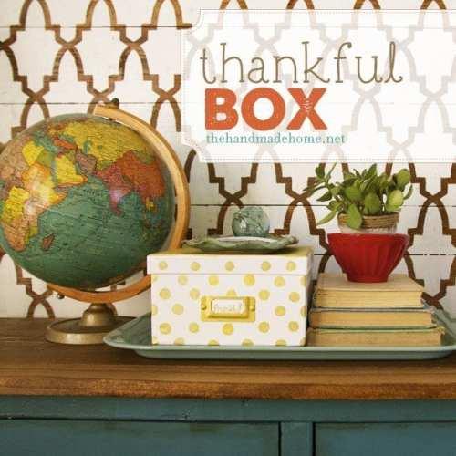 thankful box