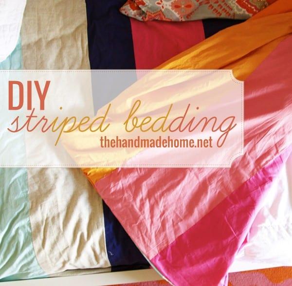 diy_striped_bedding
