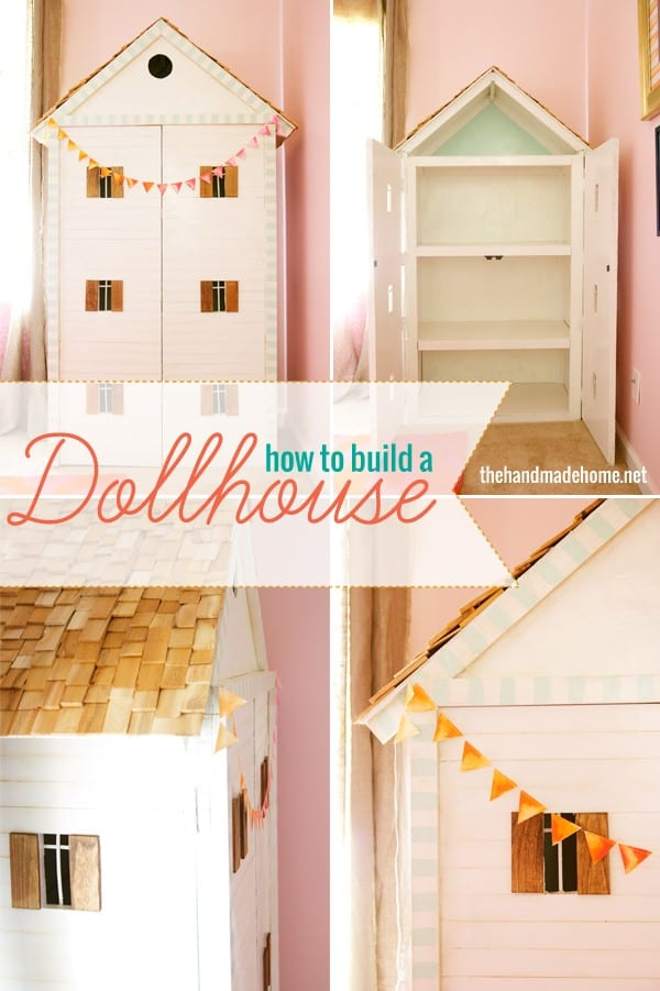 how to build a dollhouse