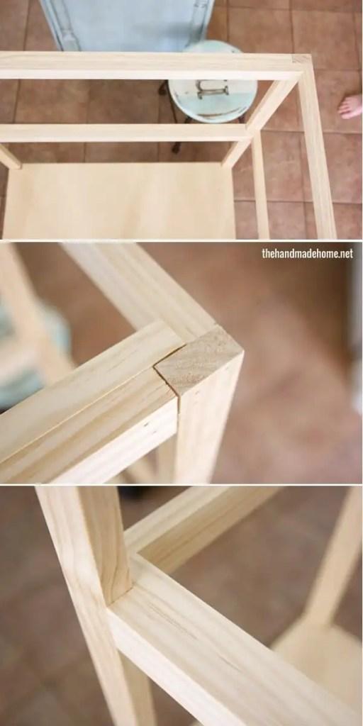 how to build a dollhouse - frame