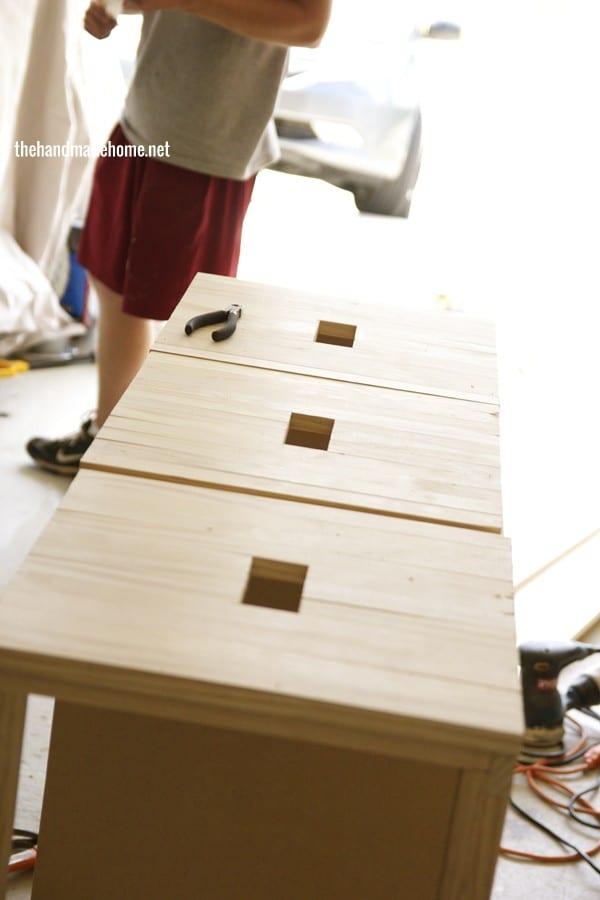 how to build a dollhouse - siding