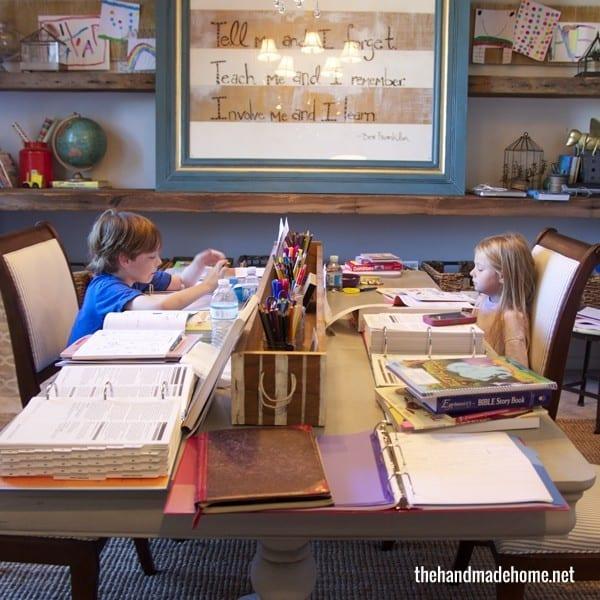 homeschool_room_work