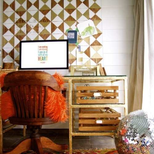 diy pottery barn inspired desk