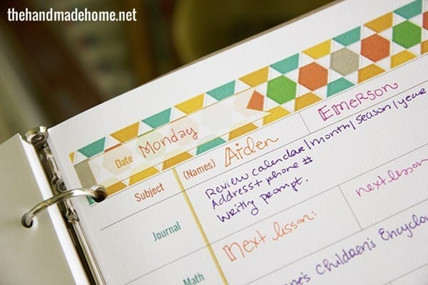 home_school_lesson_plans