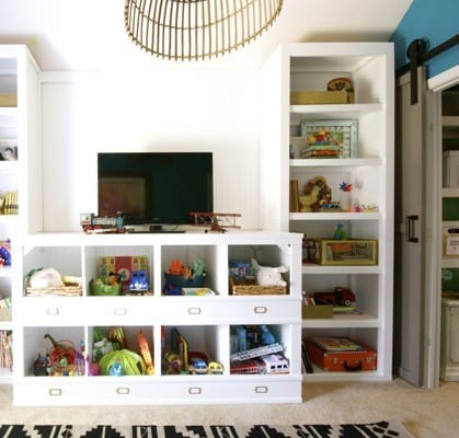 diy toy storage cubbies