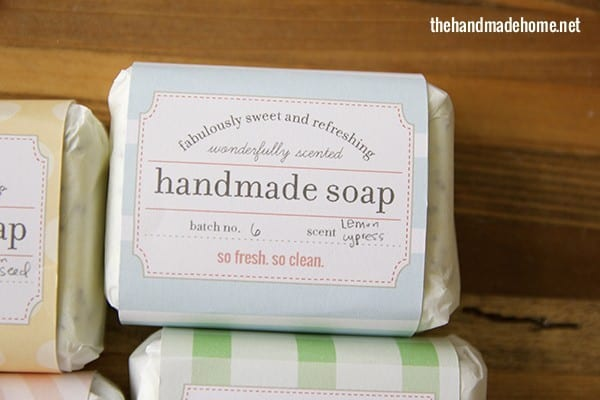 make your own soap labels