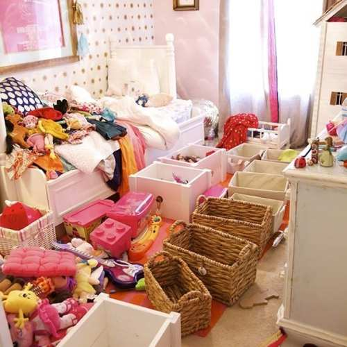purging children's rooms