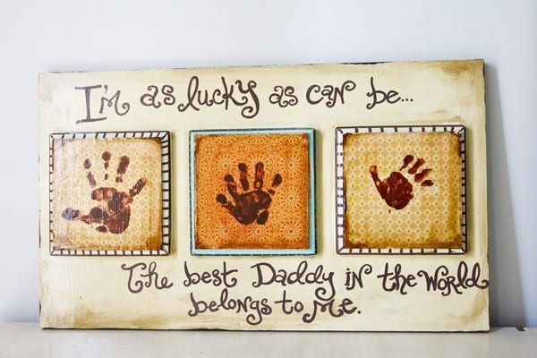 easy fathers day gifts - diy