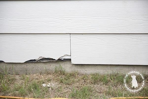 how to repair hardie board siding