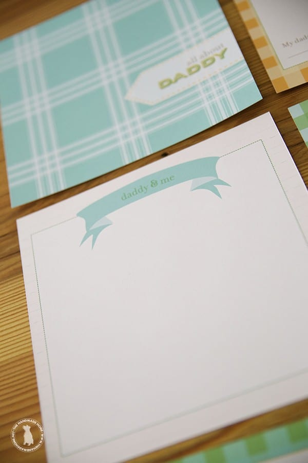 Easy fathers day gifts - card