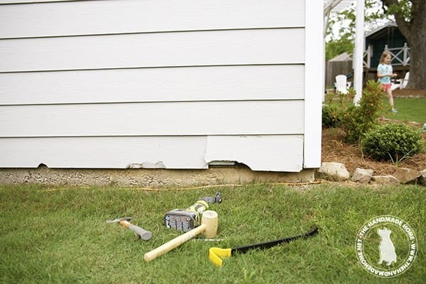 how to repair hardie board siding