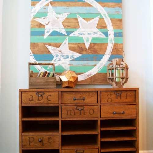 tennessee flag art
