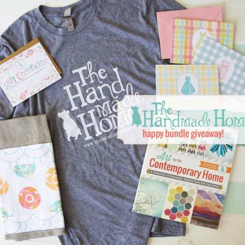 the handmade home happy bundle giveaway