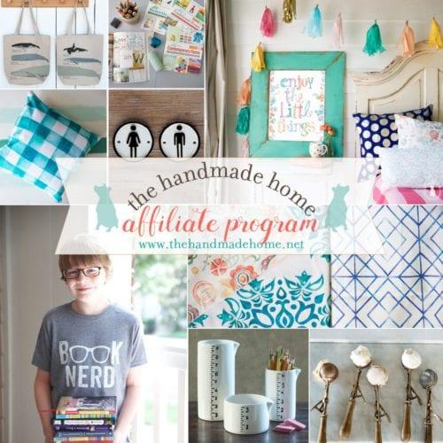 the handmade home affiliate program