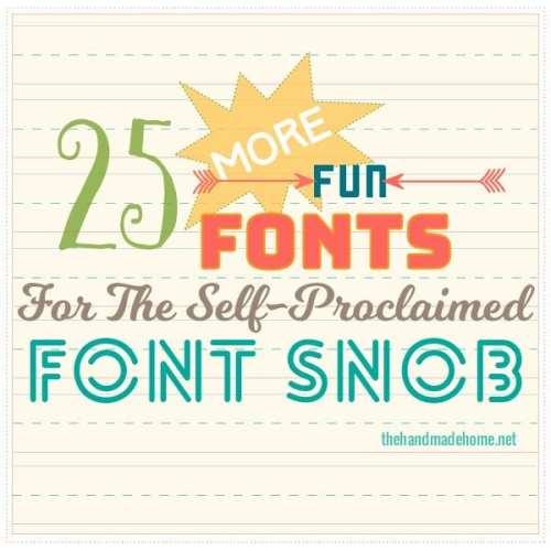 the font snob club {september 2016}